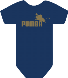 PUMBA BODYSUIT - INSPIRED BY LION KING PUMA
